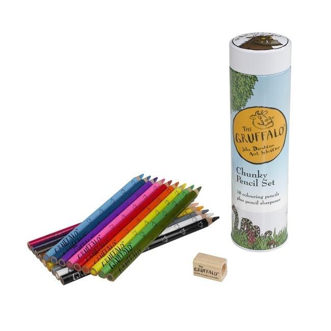 The Gruffalo Chunky Pencil Set