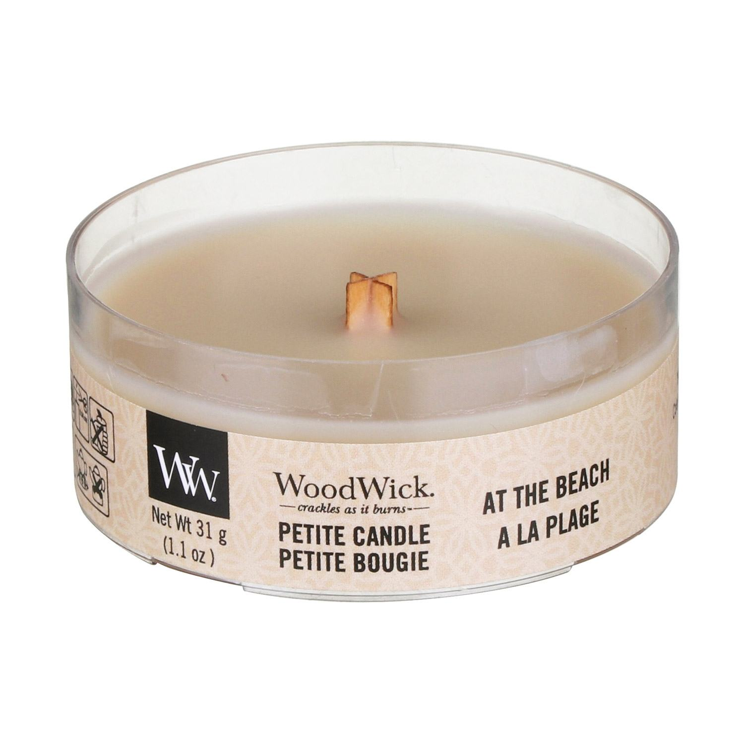 Woodwick At The Beach Petite Candle Temptation Gifts