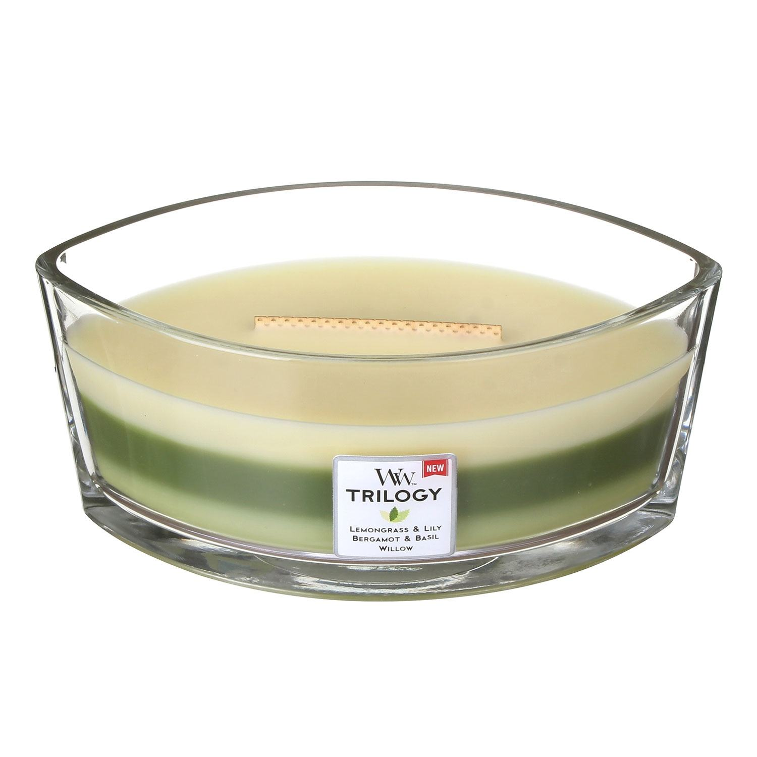 Scented Candles WoodWick Hearthwick Garden Oasis Trilogy Candle