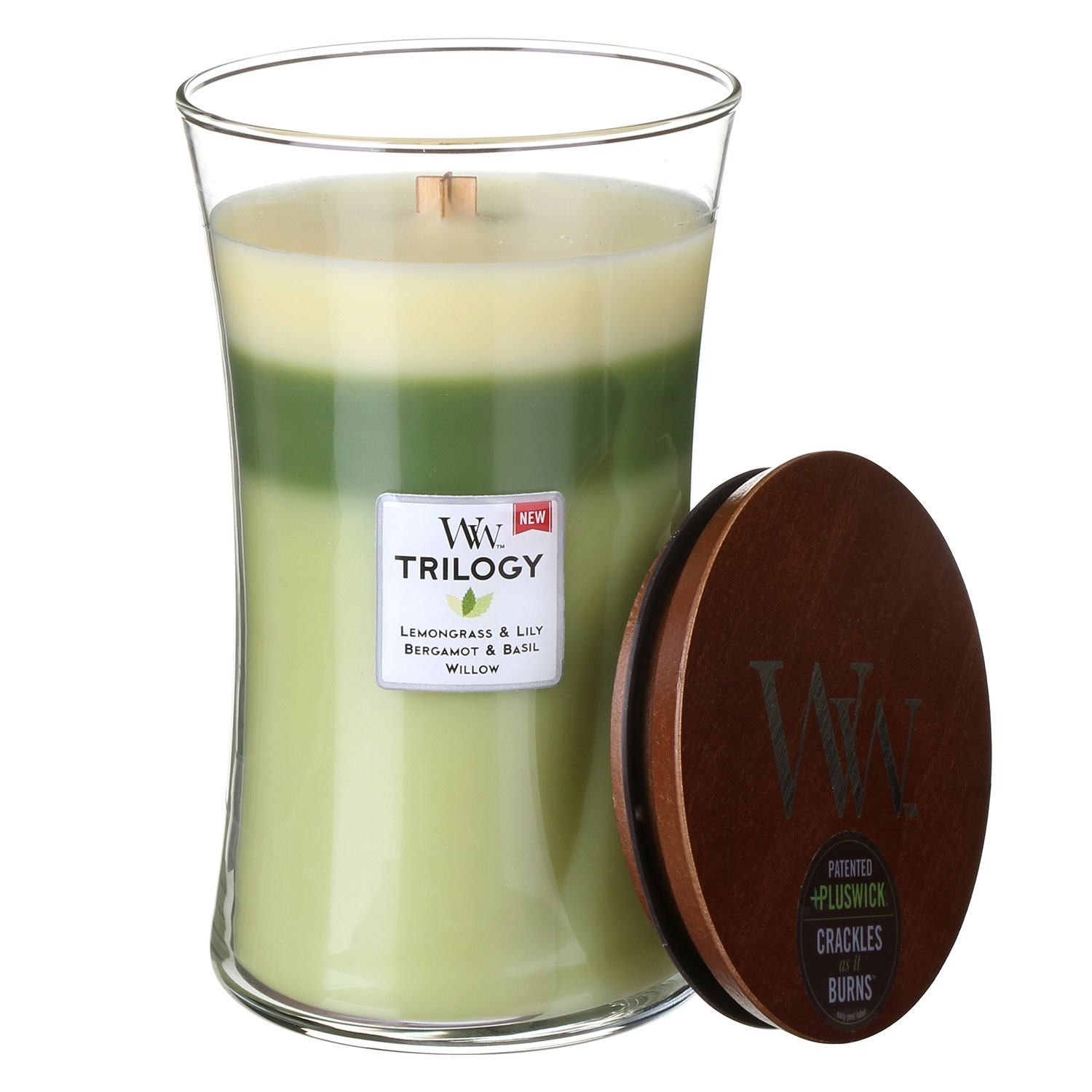 Scented Candles WoodWick Garden Oasis Large Trilogy Candle