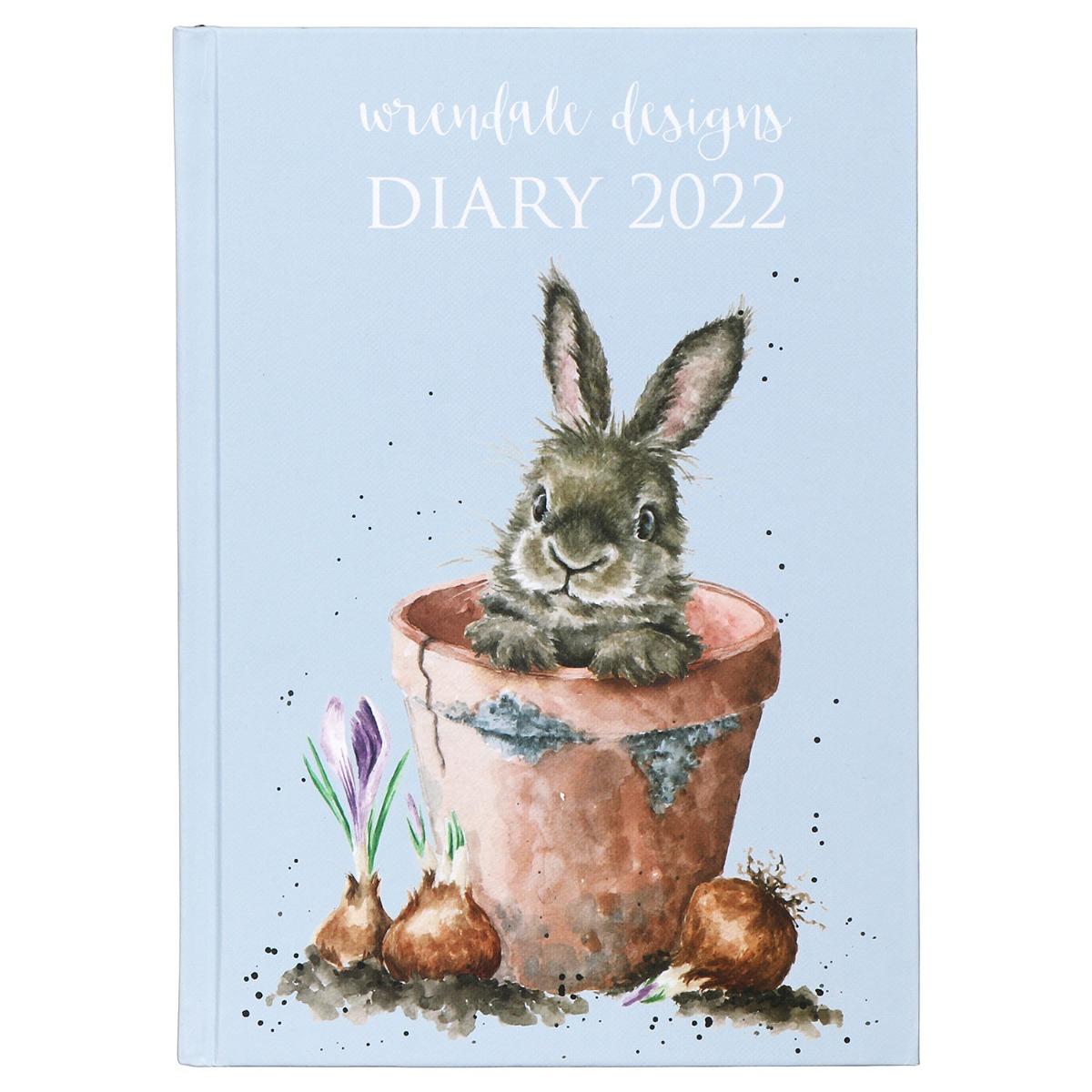 Wrendale A5 Hardback 2022 Desk Diary