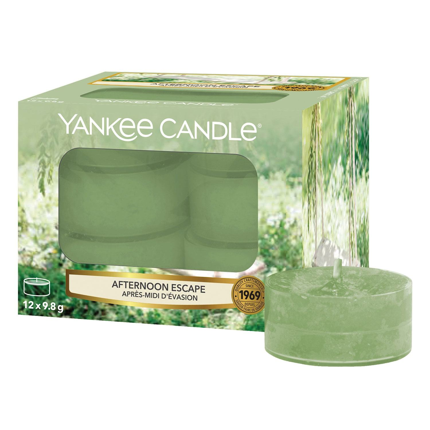 Yankee Candle Afternoon Escape Pack of 12 Tealights