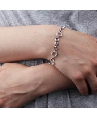 Silver and cubic zirconia bracelet by Fiorelli