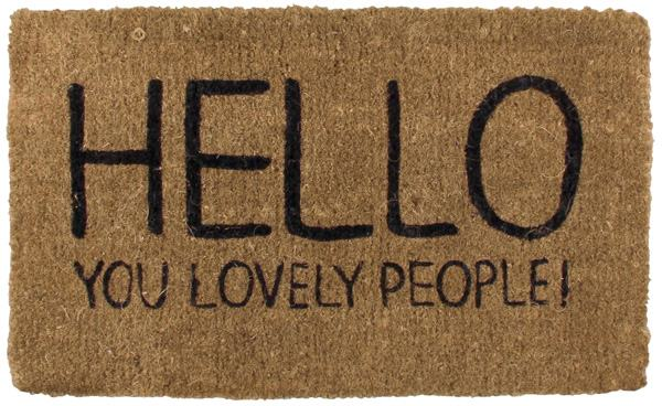 Happy Jackson Welcome Mat