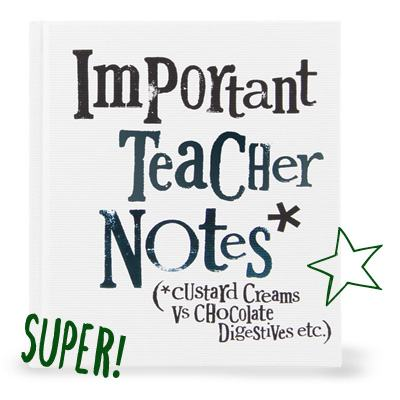 Important Teacher Notes