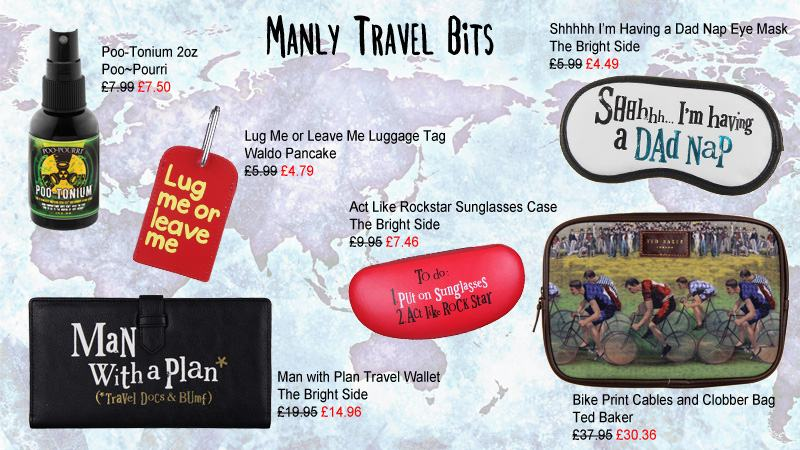 Manly Travel Bits