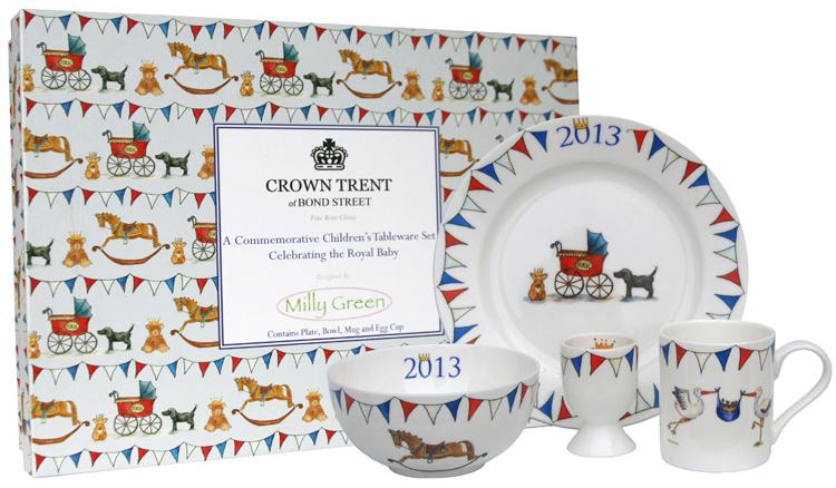 Milly Green Royal Baby Gift Set