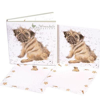 Pug Love Notecard Set