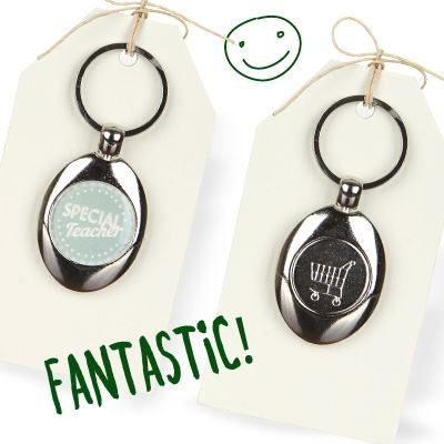 Special Teacher Keyring
