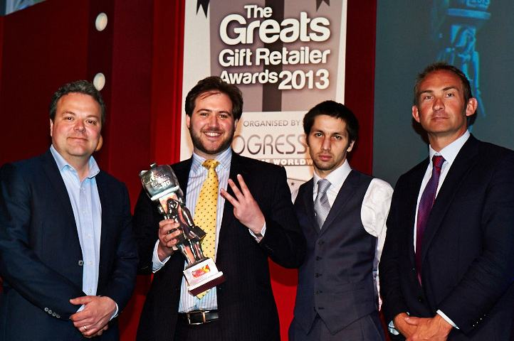 TemptationGifts wins Best Online Gift Retailer