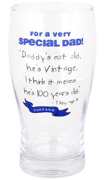 Wisdom Of Kids Pint Glass