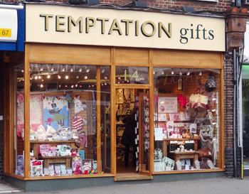 Temptation Gifts store