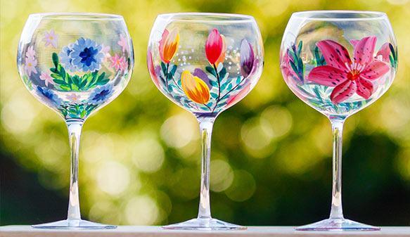 Lynsey Johnstone Gin Glasses