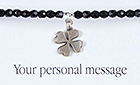 Carrie Elspeth Personalised Sentiments Bracelet