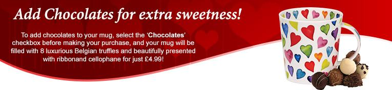 Add Belgian Chocolates to your Dunoon mug!