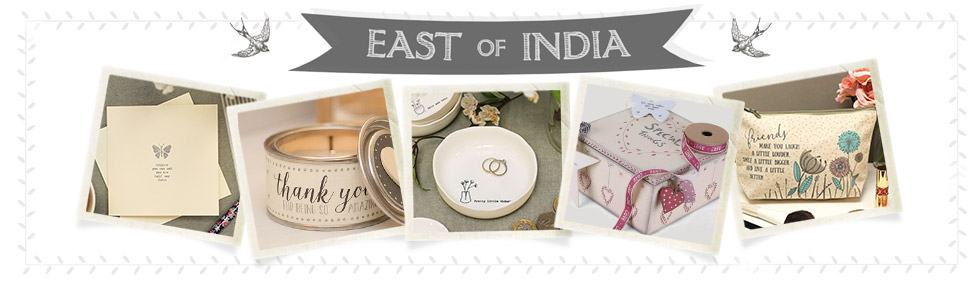 East Of India Collection At Temptation Gifts