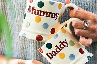 Browse all Mum & Dad Mugs from Emma Bridgewater