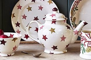 Browse everything in the Pink & Gold Stars range