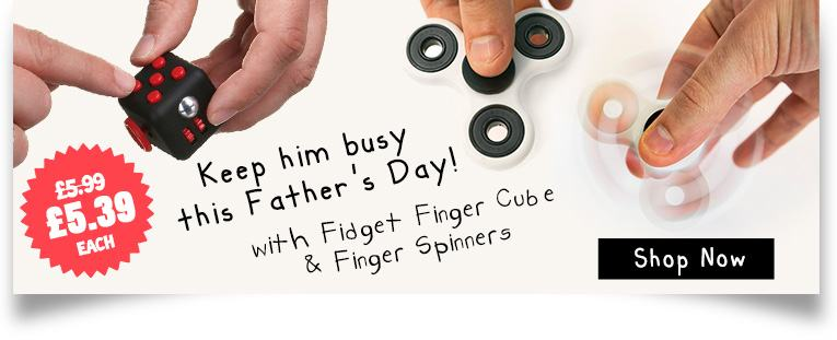 Finger Spinners and Fidget Finger Cube