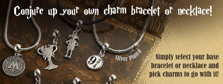 Harry Potter Official Charm Bracelets and Necklaces