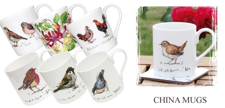 China mugs from Madeleine Floyd