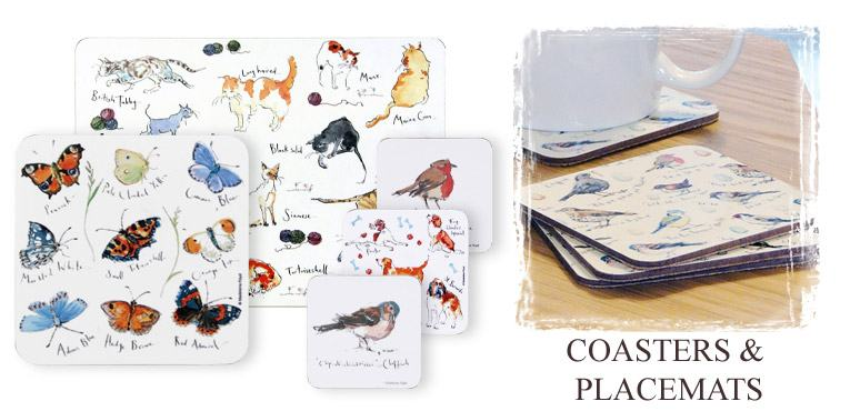 Coasters and placemats from Madeleine Floyd