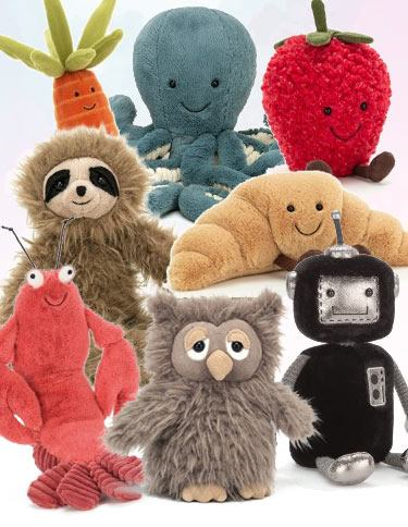 Browse new Jellycat Collection