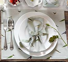 Napkins, table runners and placemats from Sophie Allport