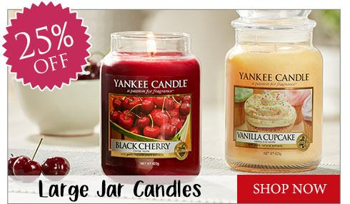 Yankee Candle | at least 20% all candles and wax