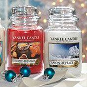 Christmas collection from Yankee Candle