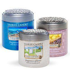 Fragrance Spheres from Yankee Candle