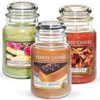 Large Jar Candles from Yankee Candle