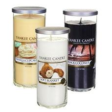 Large Pillar Décor Candles from Yankee Candle