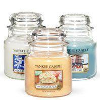 Medium Jar Candles from Yankee Candle