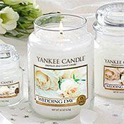 Yankee Candle's Wedding Day Collection