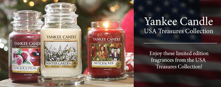 Yankee Candle USA Treasures Collection
