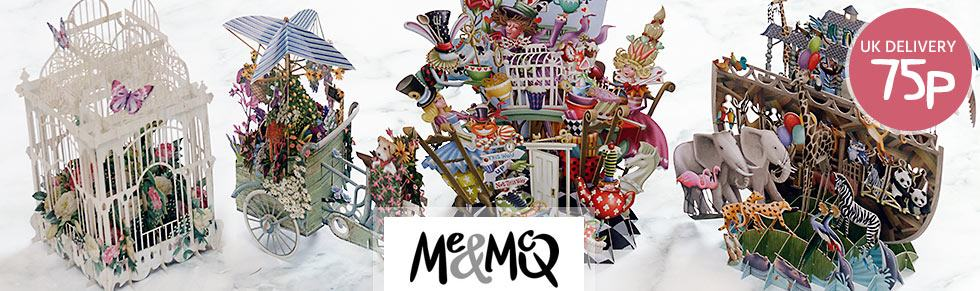 Enjoy A Huge Collection Of 3D Laser Cut Greeting Cards From MeMcq The Most Exciting To Ever Pop Out An Envelope