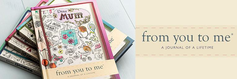 From You To Me Lifetime Journals
