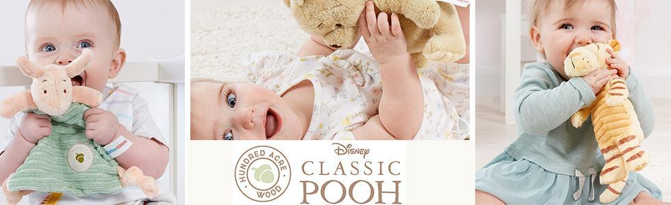 Winnie The Pooh Rainbow Designs Baby Plush Toys