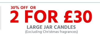 Yankee Candle Large Jar Candles offer